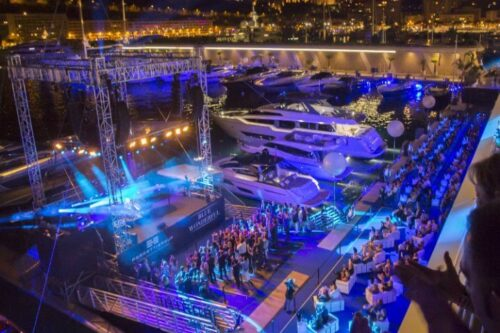 """Ferretti Group and Yacht Club de Monaco together for """"Blue Wonderful"""", an exclusive event with Sir Elton John"""