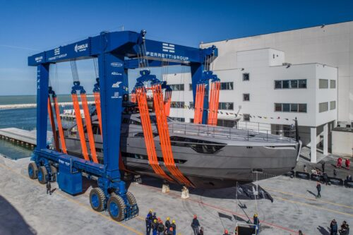 Pershing launches the first unit of its new flagship Pershing 140.