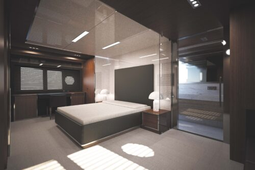 Riva 122_' Mythos_4 and 5 cabins layout_master cabin_1