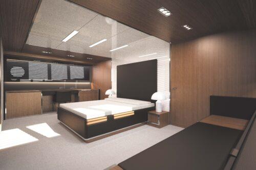 Riva 122_' Mythos_4 cabins layout_VIP cabin_1