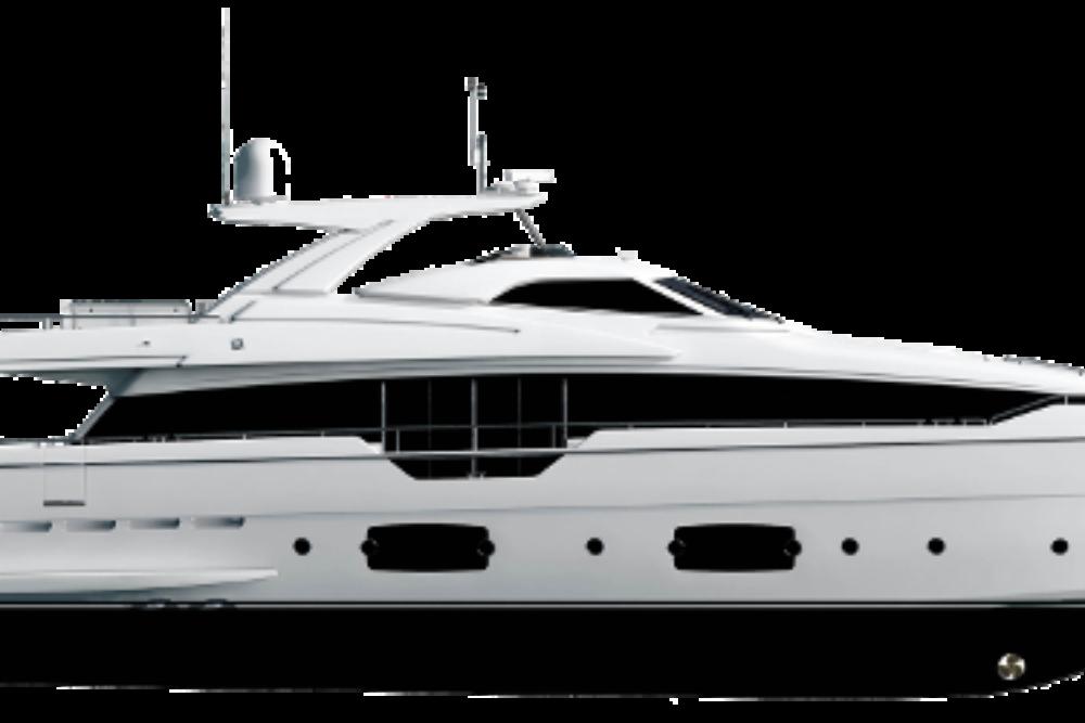 Ferretti Yachts 960 - Layout - Profile