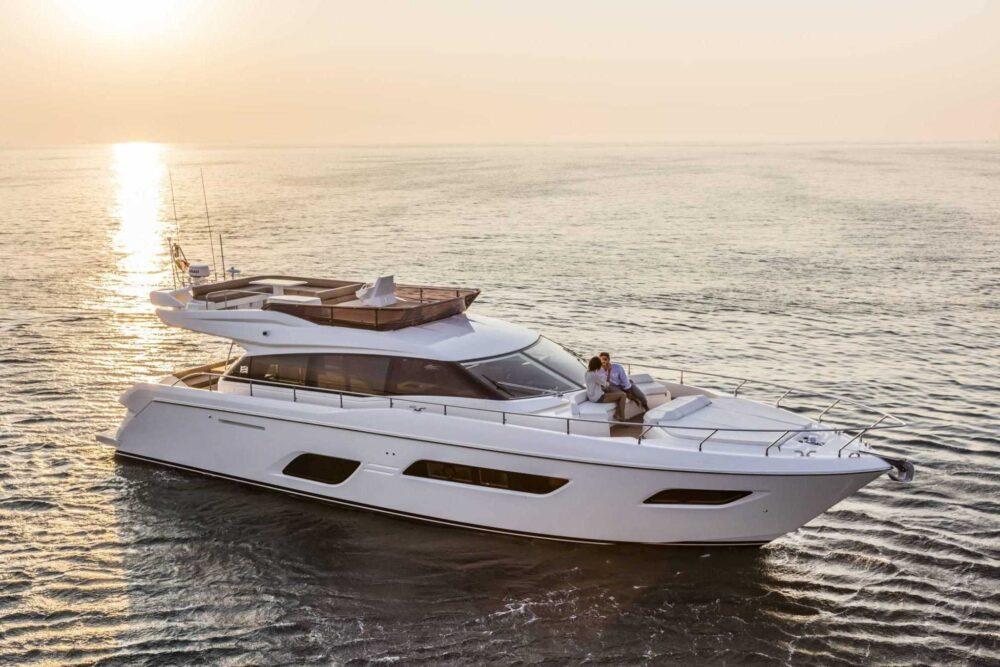 Ferretti Yachts 550 - Exteriror - Ferretti Yachts 550