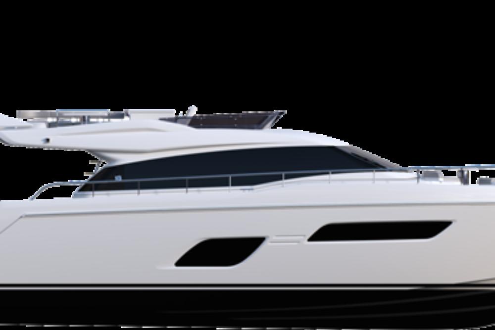 Ferretti Yachts 550 - Layout - Profile