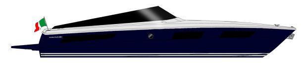 Itama 45 S - Layout - Profile