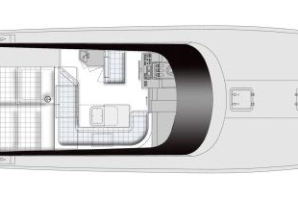 Itama 45 S - Layout - Main deck