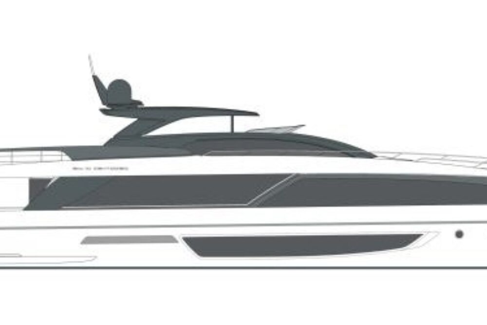 Riva 110′ Dolcevita - Layout - Profile
