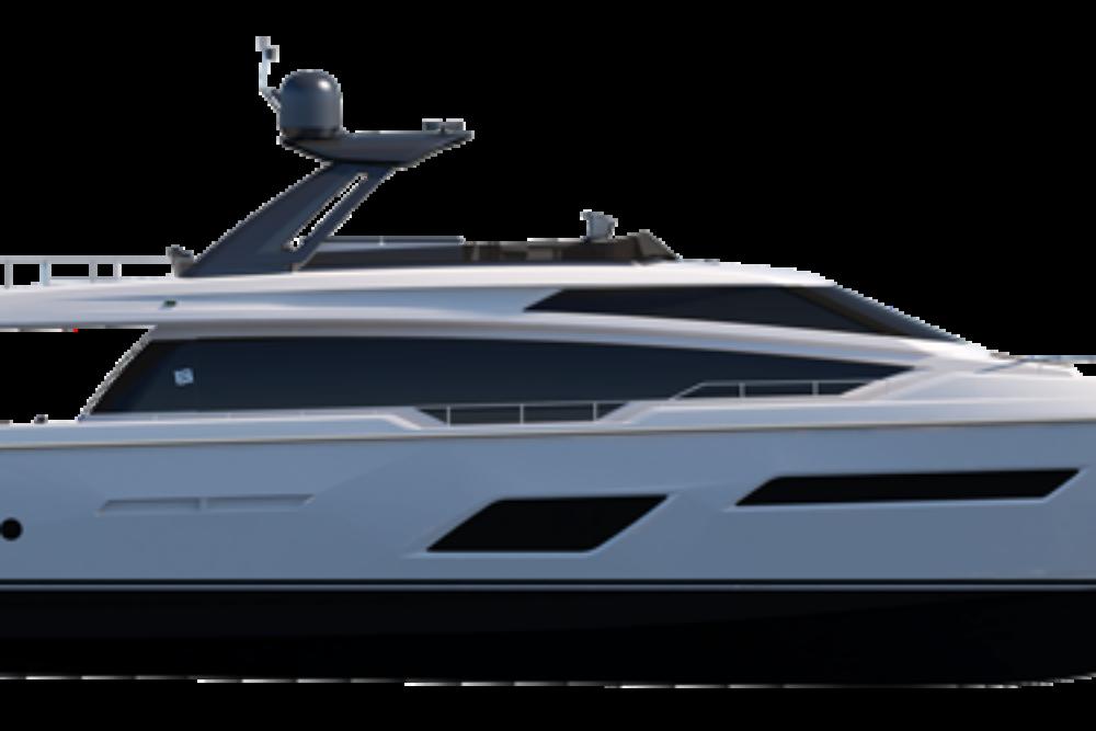 Ferretti Yachts 780 - Layout - Profile