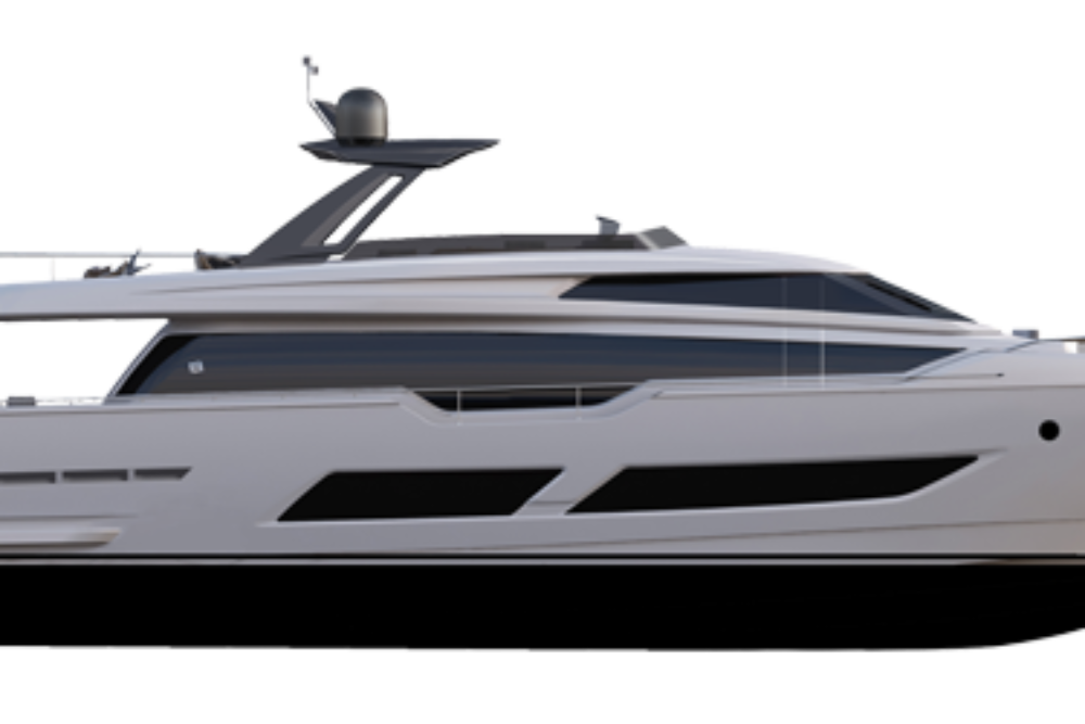 Ferretti Yachts 850 - Layout - Profile