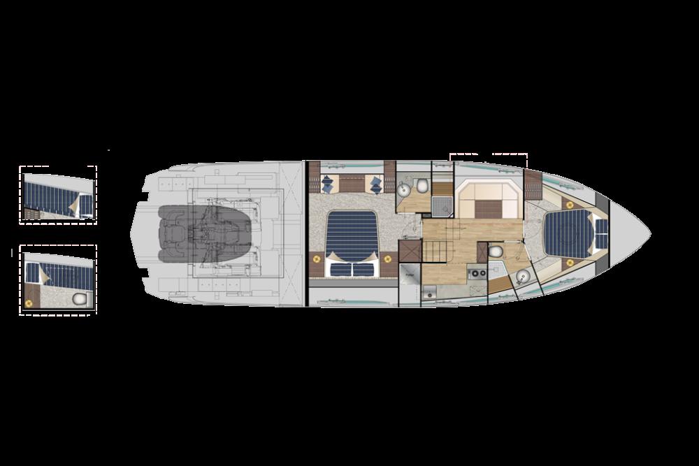 Pershing 5x - Layout