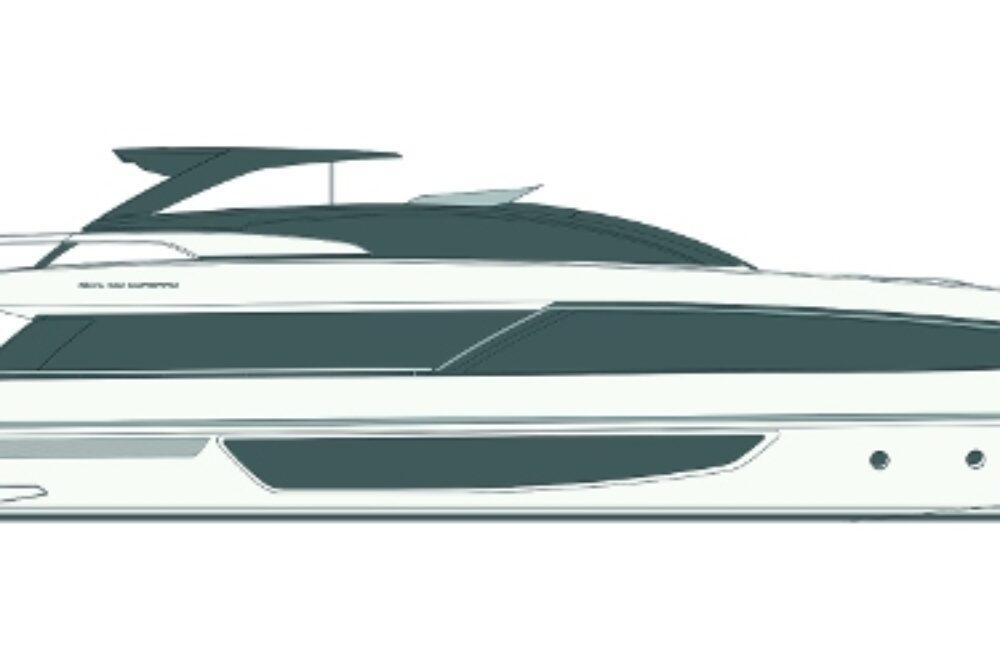 Riva 100′ Corsaro - Layout - Profile