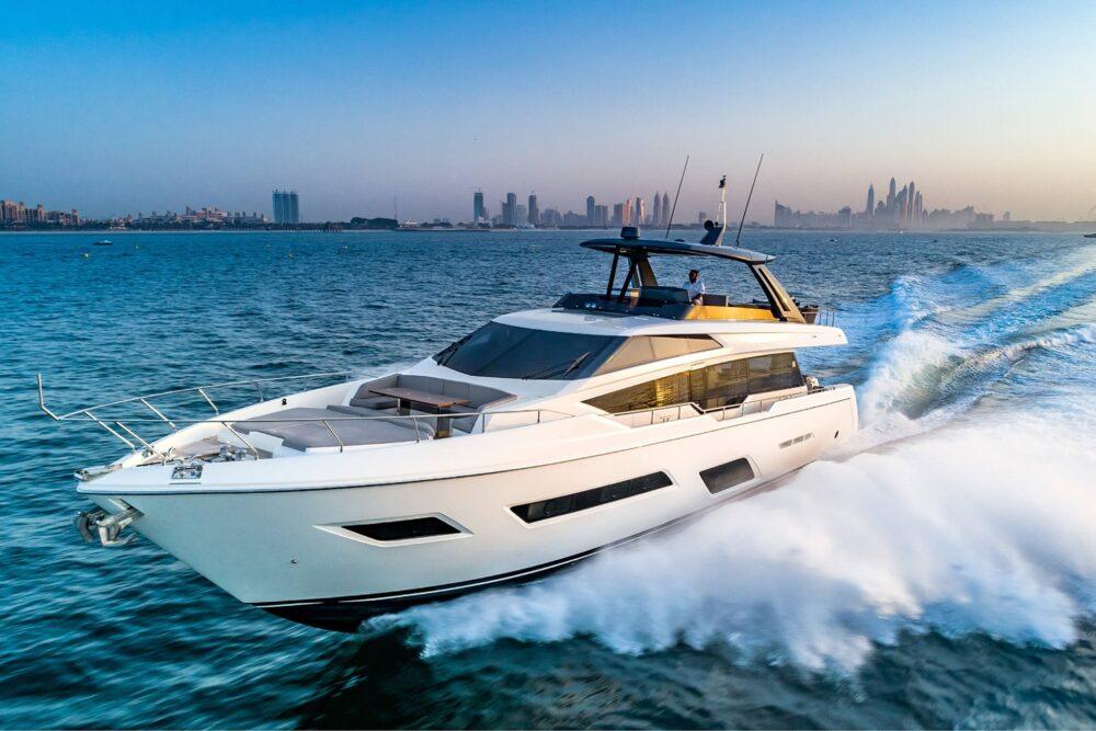 Ferretti Yachts 780 - Exteriror - Ferretti Yachts 780