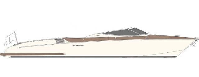 Riva Aquariva Super - Layout - Side
