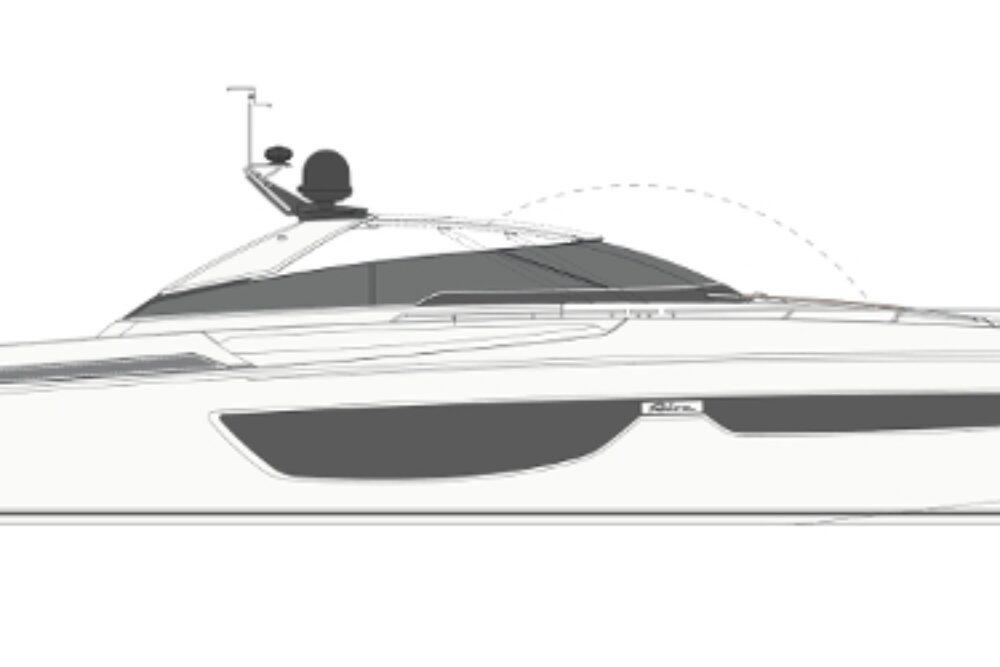 Riva 76′ Bahamas - Layout - Profile