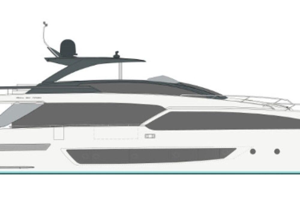 Riva 90′ Argo New - Layout - Profile