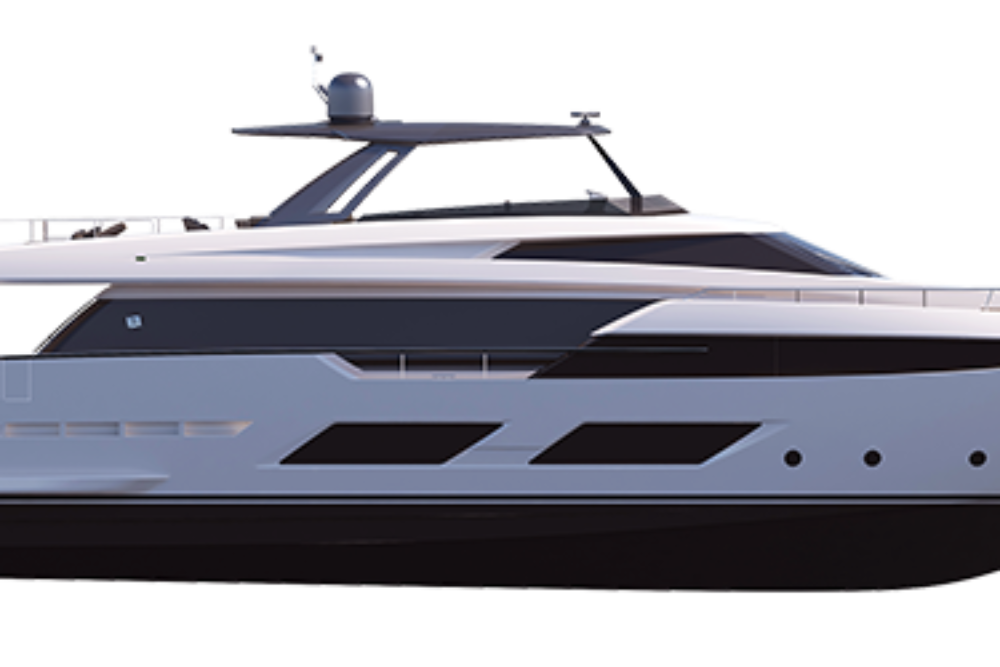 Ferretti Yachts 920 - Layout - Profile