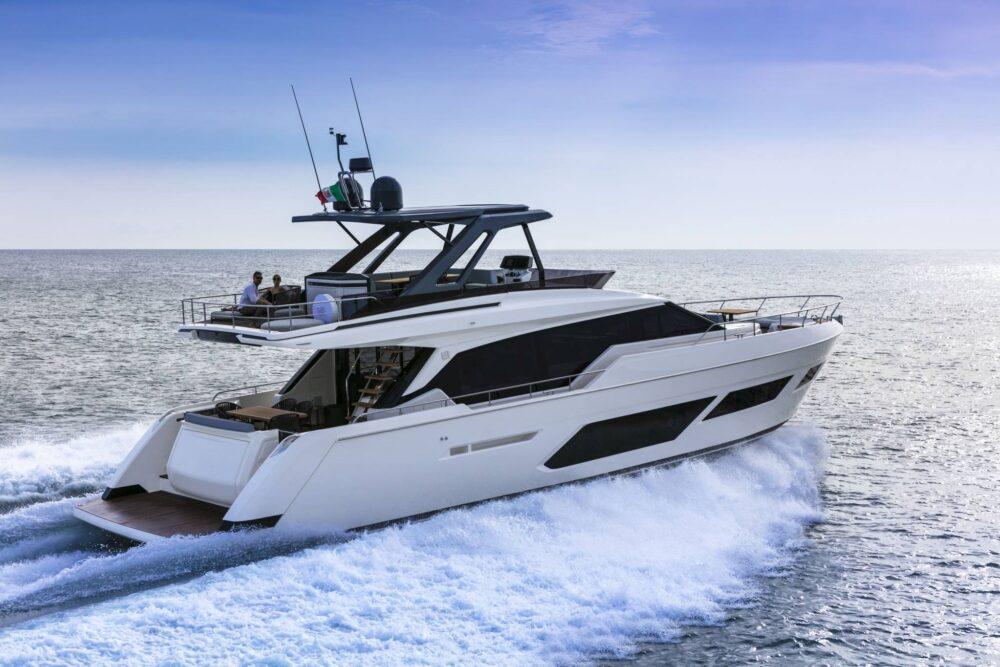 Ferretti Yachts 720 New - Featured - Ferretti Yachts 720 New