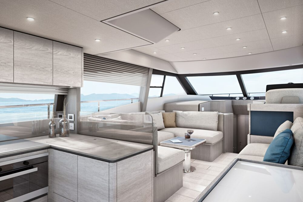 Ferretti Yachts 500 Project - Interior - Ferretti Yachts 500 Project