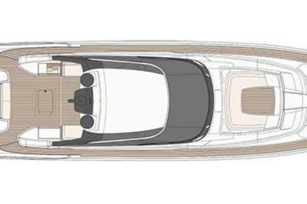Riva 88′ Florida - Layout - Sun Deck
