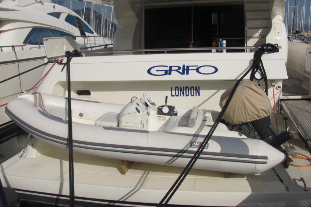 """Ferretti 760 #14 """"GRIFO"""" - Exterior"""