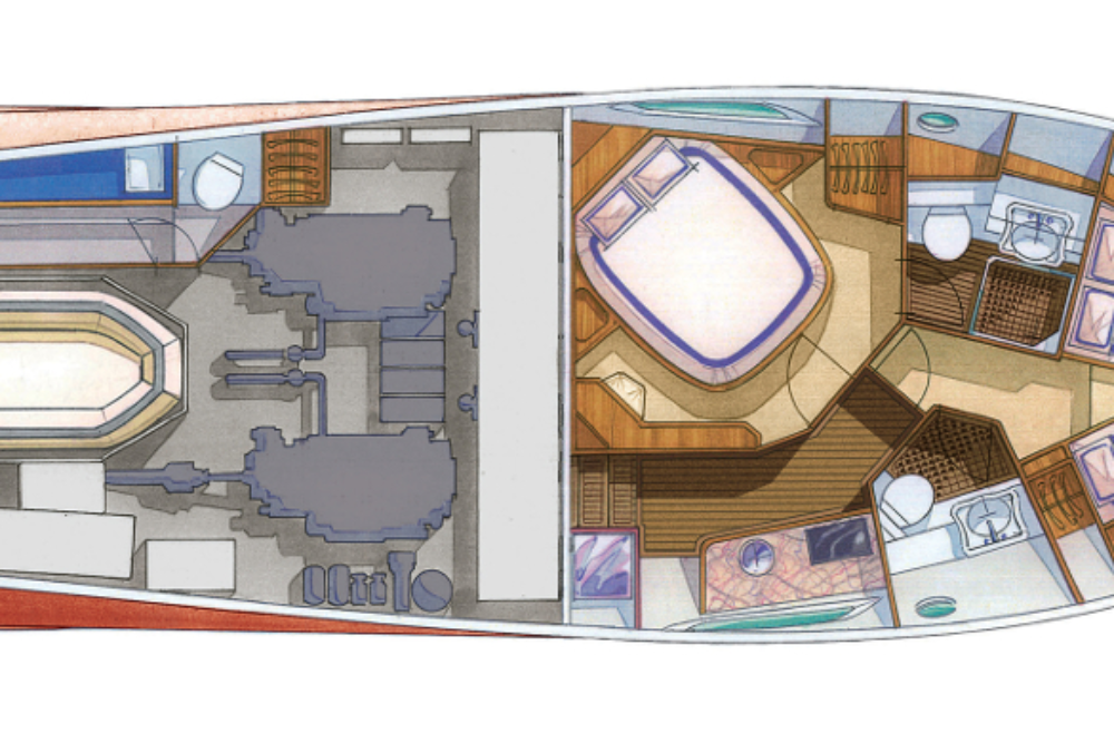 DOLPHIN 44′ - Layout