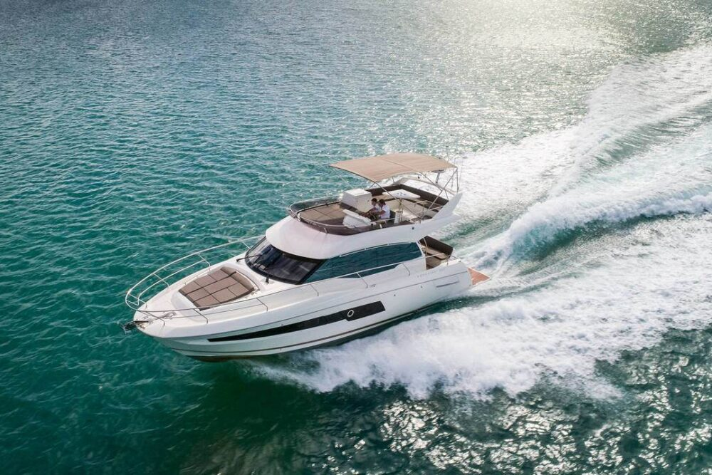 "Prestige 460 Fly ""Adudu 2"" - Featured"
