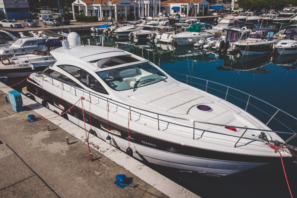 """PERSHING 56 #39 """"TEANNA"""" - Featured"""