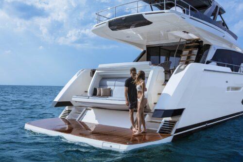 Ferretti Yachts 720 review in Yachts Croatia Magazine