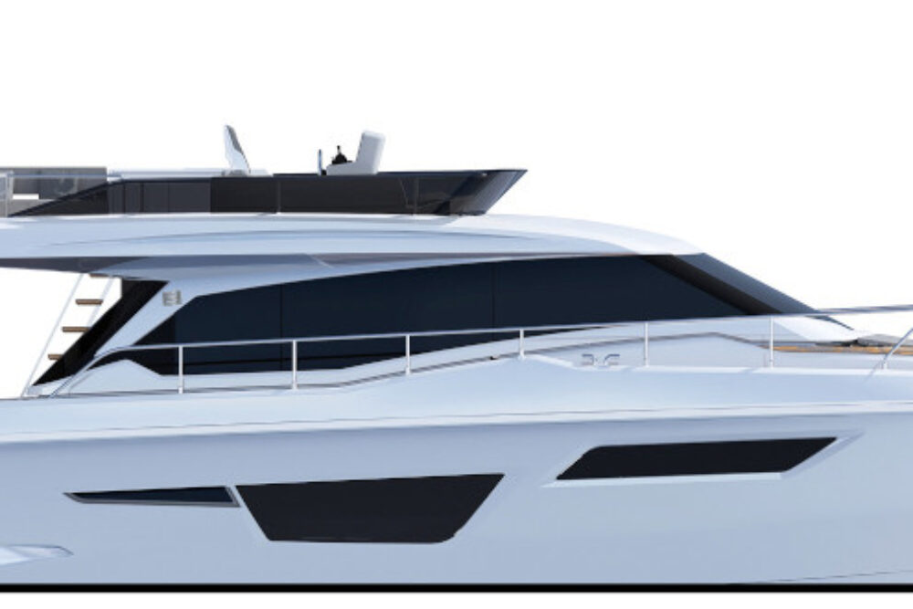Ferretti Yachts 500 [NEW] - Layout