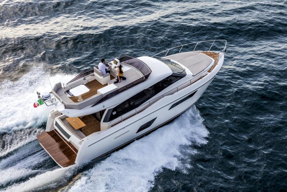 """Ferretti Yachts 450 """"Lady Esmeralda"""" - Featured"""