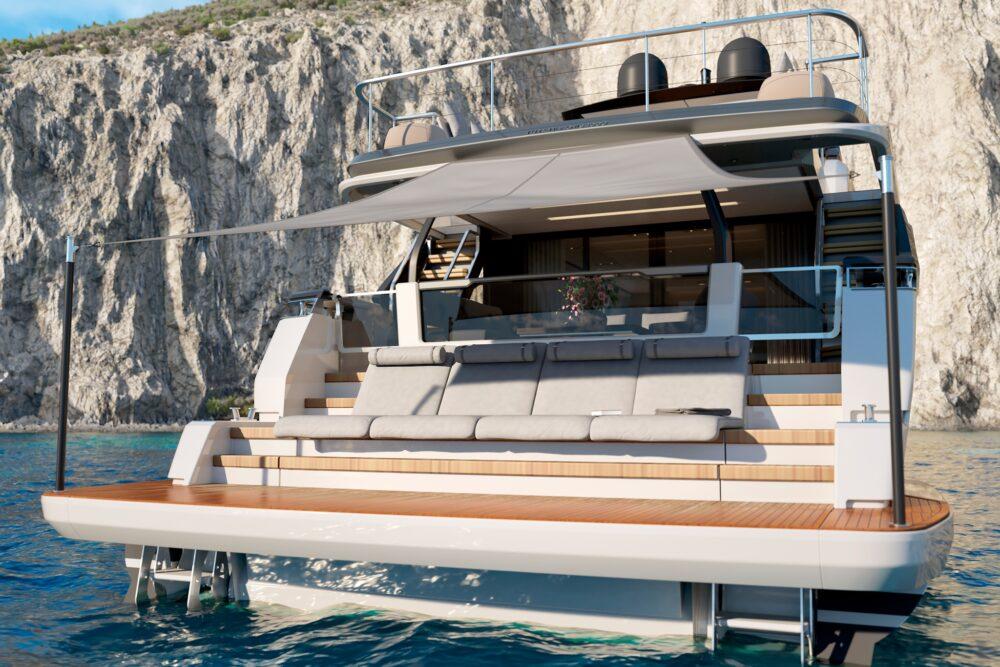 Ferretti Yachts 1000 Project - Exteriror
