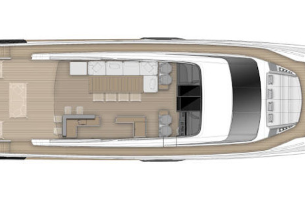 Ferretti Yachts 1000 Project - Layout