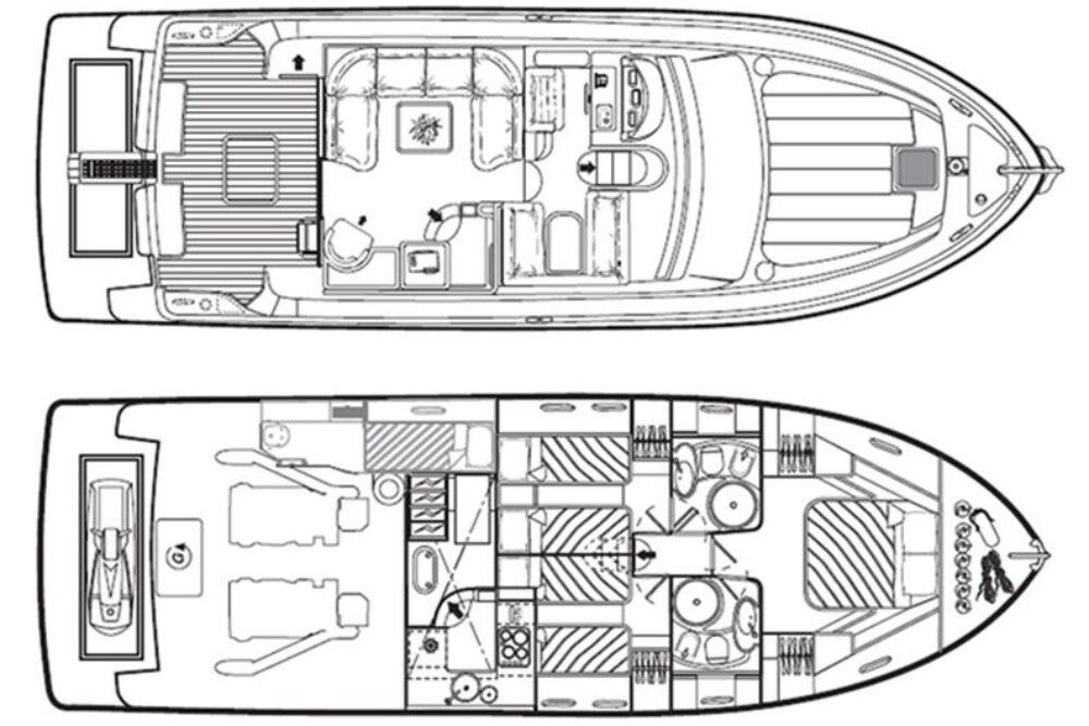 Ferretti Yachts 480 #46 - Layout