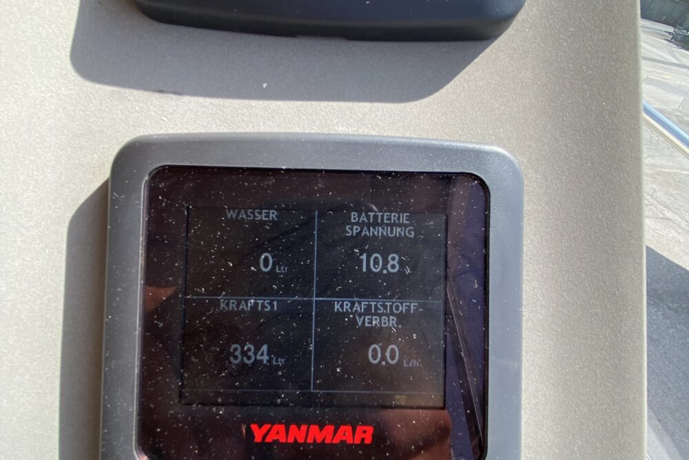 """Marex 320 ACC """"MS CAMPARI"""" - Interior"""