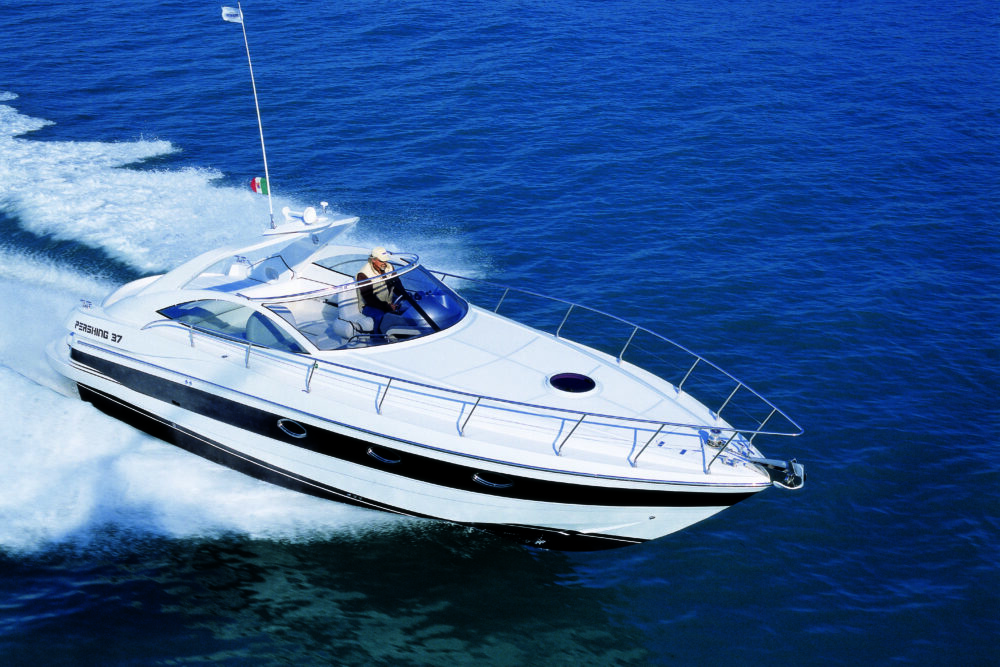 Pershing 37 #21 - Featured