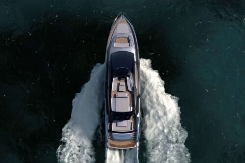 Riva 76 Perseo Super: Improving a Masterpiece