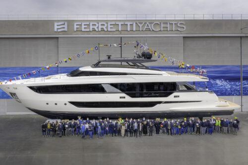 Ferretti Yachts 1000 Launch