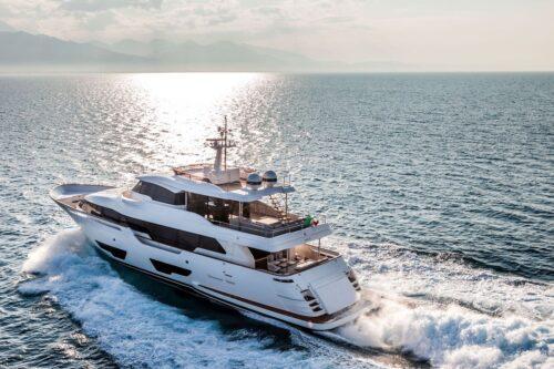 For sale: Last ever Custom Line Navetta 28 superyacht produced
