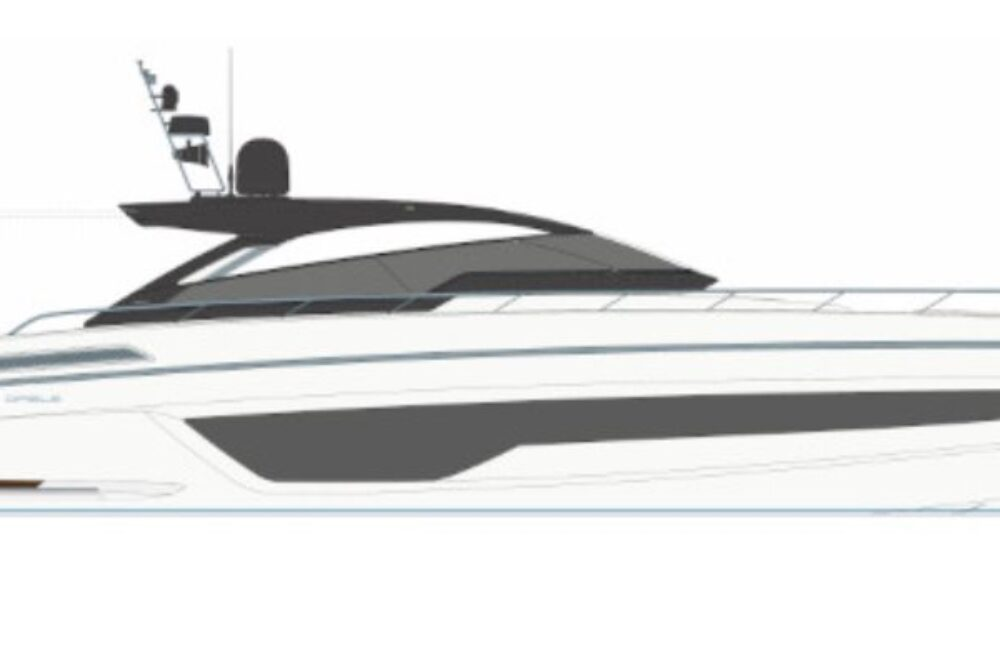 Riva 68' Diable Project - Layout