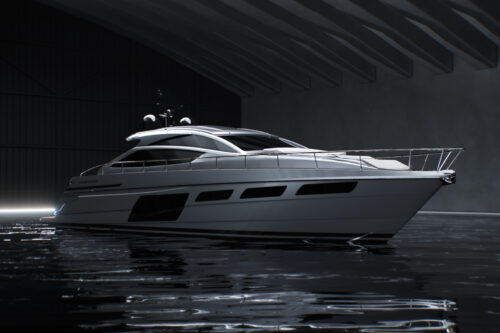 New Pershing 6X: bold by nature